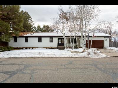 Salt Lake City Single Family Home For Sale: 962 E North Bonneville N