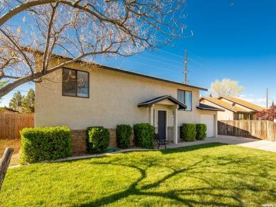 St. George Single Family Home For Sale: 1585 W 1400 N