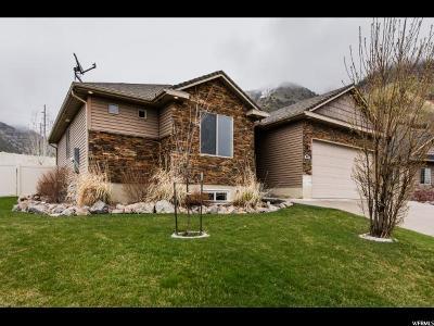 North Logan Single Family Home Under Contract: 1882 N 2050 E