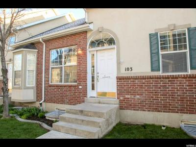 Logan Townhouse Under Contract: 1035 N 130 W #103