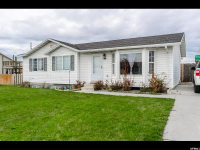Hyrum Single Family Home Under Contract: 85 Manitoban