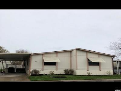 Clearfield Single Family Home Under Contract: 1350 W 300 N #10