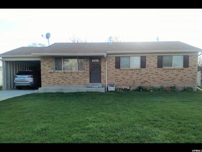 Tremonton Single Family Home Under Contract: 724 S 100 W