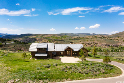 Wasatch County Single Family Home For Sale: 5787 E Rock Chuck Dr