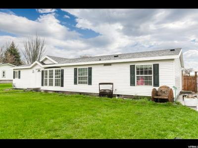 Hyrum Single Family Home Under Contract: 177 N Center St