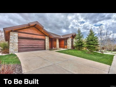 Weber County Single Family Home For Sale: 4715 E Mountain Trail Ct #13