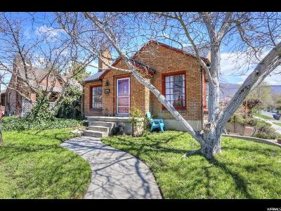 Salt Lake City Multi Family Home For Sale: 1847 S 1500 E