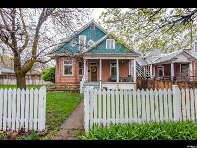 Salt Lake City Single Family Home For Sale: 732 S Green St E
