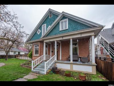 Salt Lake City Single Family Home For Sale: 738 Green St