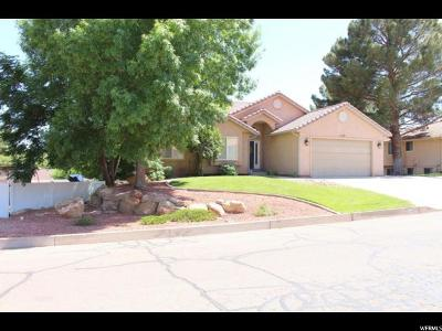 St. George Single Family Home For Sale: 1137 Escalante Dr