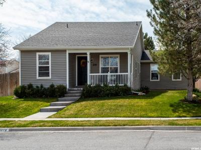 Tooele UT Single Family Home For Sale: $287,500