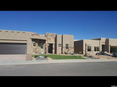 St. George Single Family Home For Sale: 4773 N Cottontail Dr #1542