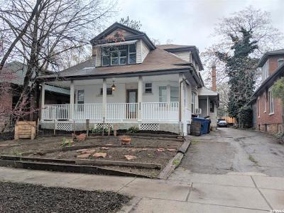 Salt Lake City Multi Family Home For Sale: 995 S Lincoln St E