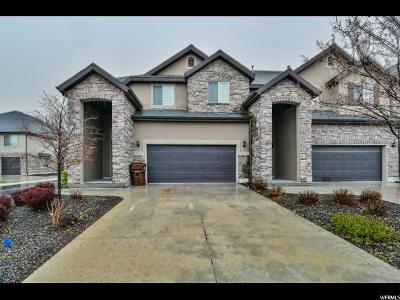 Draper Townhouse For Sale: 13363 S Saddle Villa Dr