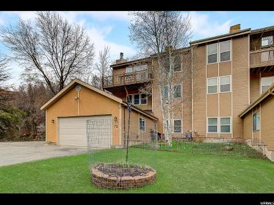 Salt Lake City Single Family Home For Sale: 72 N Pioneer Fork Rd E