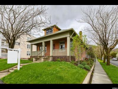 Salt Lake City Single Family Home For Sale: 768 N 300 W