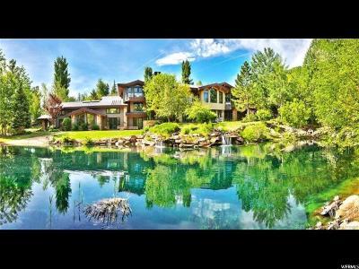 Park City Single Family Home For Sale: 2680 Aspen Spgs