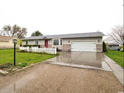 Erda Single Family Home Under Contract: 3791 N 570 W