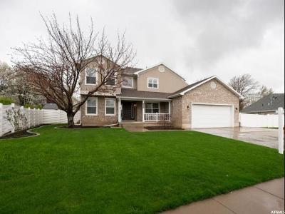 Davis County Single Family Home For Sale: 849 W 550 N