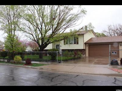 Salt Lake City Single Family Home For Sale: 792 N Sir Philip Dr