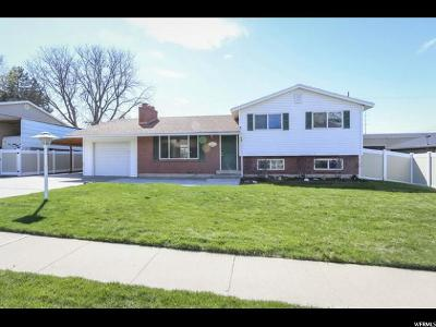 Cottonwood Heights Single Family Home For Sale: 7018 S Ponderosa Dr E