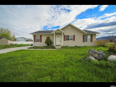 Tremonton Single Family Home Under Contract: 461 W 860 S