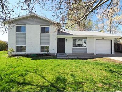 Salt Lake City Single Family Home For Sale: 3213 W Rushton Ln