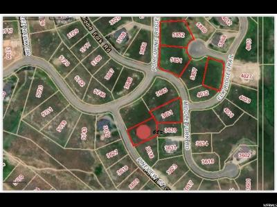 Weber County Residential Lots & Land For Sale: 3630 N Pineview Ct