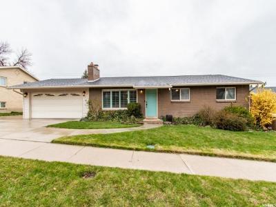 Bountiful Single Family Home For Sale: 1838 S 900 E
