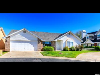 St. George Single Family Home For Sale: 2051 W Canyon View Dr