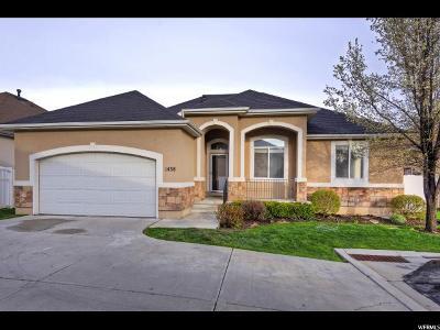 South Jordan Single Family Home For Sale: 1438 W Rock Oak Ct S