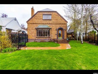 Salt Lake City Single Family Home For Sale: 975 S 1300 E