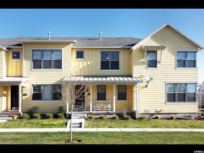 South Jordan Townhouse For Sale: 10324 S Clarks Hill Dr #8