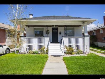Salt Lake City Single Family Home For Sale: 611 E Driggs Ave S