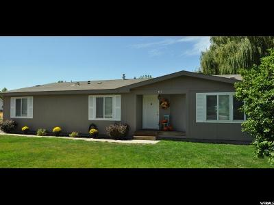 Wasatch County Single Family Home For Sale: 465 N 200 E