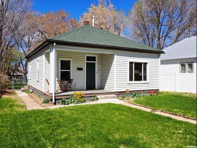Weber County Single Family Home For Sale: 2261 E Van Buren S