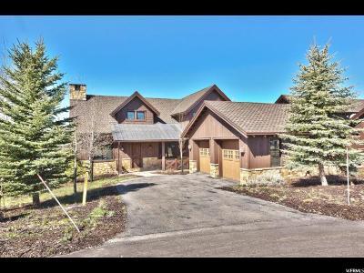 Park City Single Family Home For Sale: 7941 Western Sky