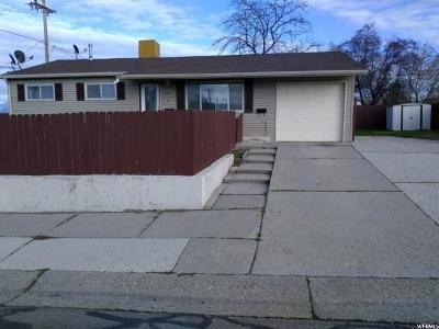 Salt Lake City Single Family Home For Sale: 4945 W Cross St S