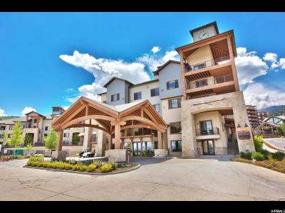 Park City Condo For Sale: 2669 S Canyons Resort Dr E #101