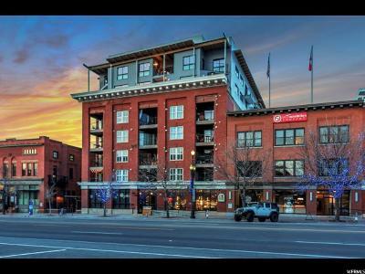 Salt Lake City Condo For Sale: 328 W 200 S #601