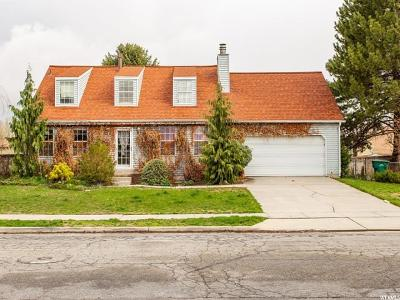 West Jordan Single Family Home For Sale: 2368 W 7095 S