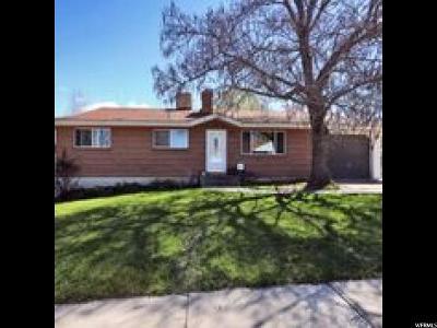 Salt Lake City Single Family Home For Sale: 5833 S Sanford Dr W