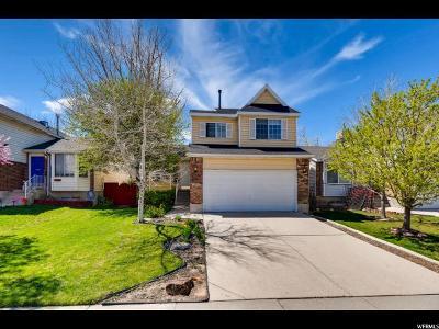 West Jordan Single Family Home For Sale: 9142 River Ridge Dr