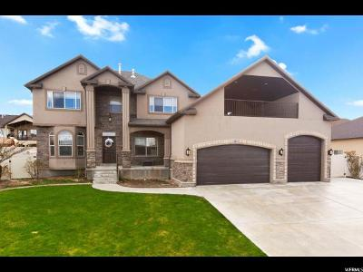 Saratoga Springs Single Family Home Under Contract: 2493 Aster Way