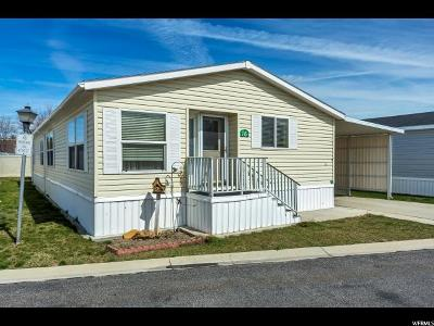 Midvale Single Family Home Under Contract: 150 W 7500 S #16