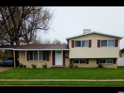 Davis County Single Family Home For Sale: 727 E 100 S
