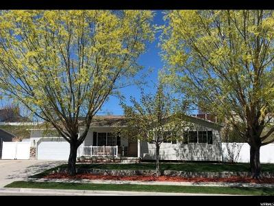 Spanish Fork Single Family Home For Sale: 2973 E 1530 S