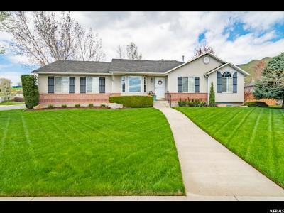 Springville Single Family Home Backup: 1753 E Riverbottom Rd S