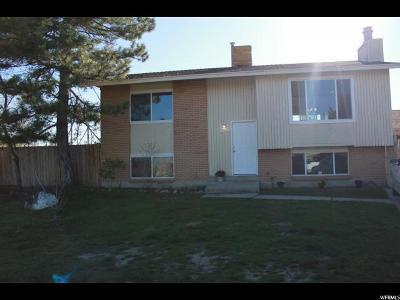 West Jordan Single Family Home For Sale: 8744 S 3720 W
