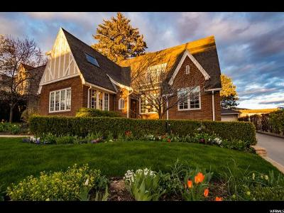 Salt Lake City Single Family Home For Sale: 476 N B St E